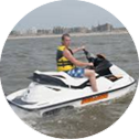 Seadoo Waterscooter varen